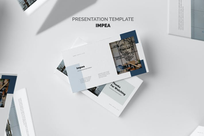 Thumbnail for Impea : Coworking Space Powerpoint