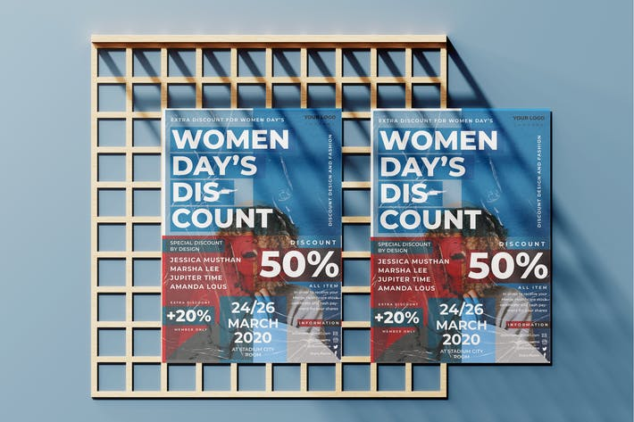 Thumbnail for Women Days Flyer