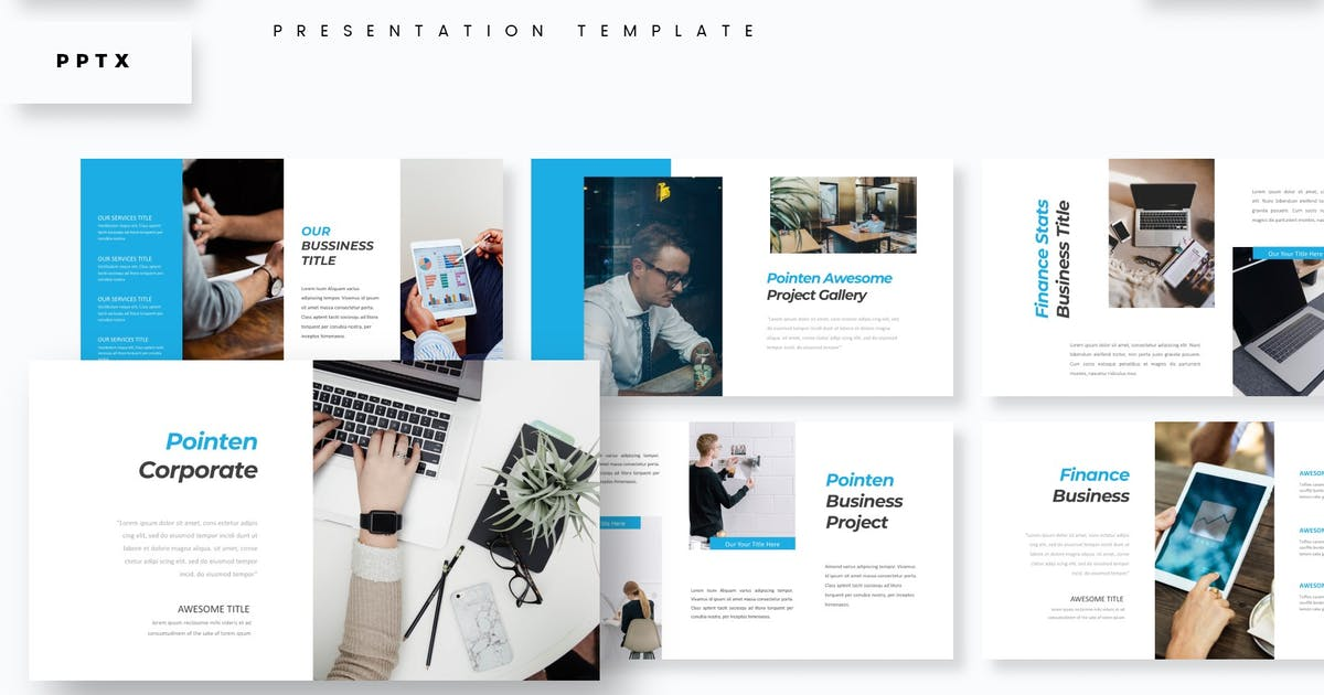Download Pointen - Presentation Template by aqrstudio