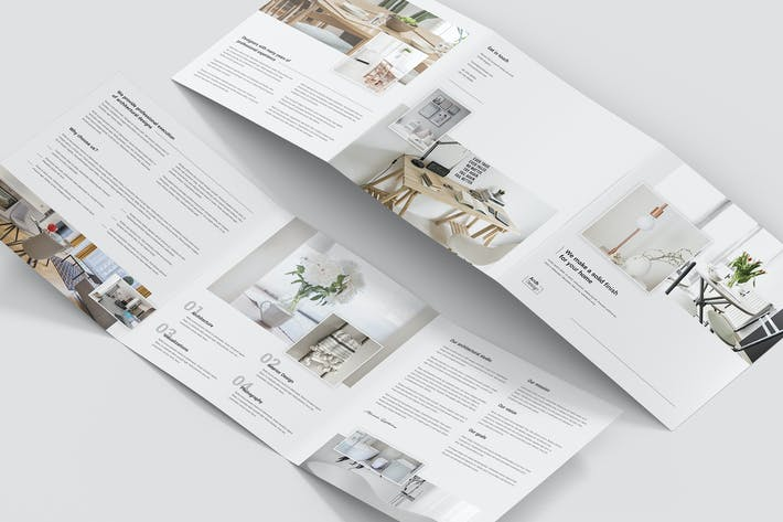 Thumbnail for Brochure – Architectural Studio Tri-Fold Square