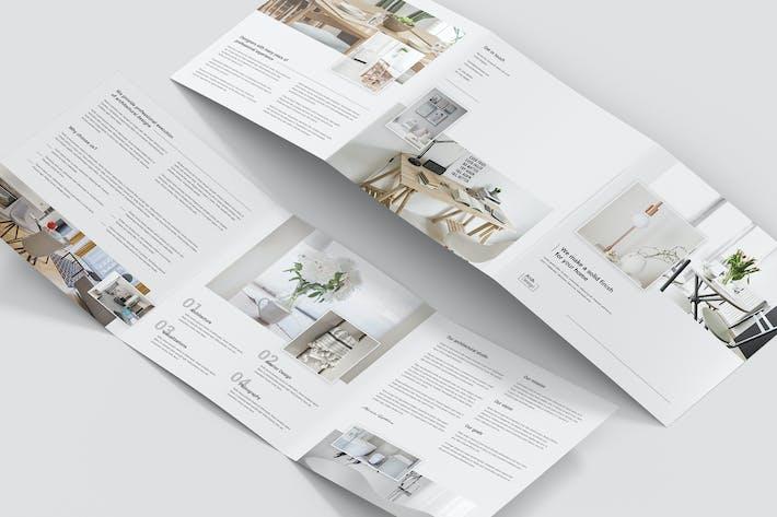 Cover Image For Brochure – Architectural Studio Tri-Fold Square