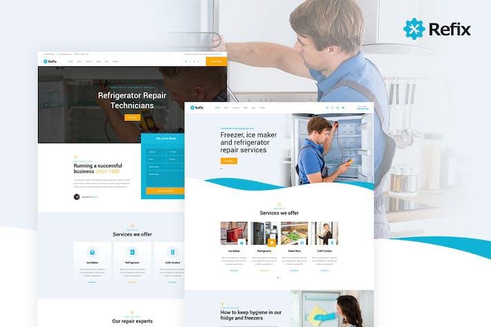 Thumbnail for Refix - Fridge & Freezer Repair Company HTML