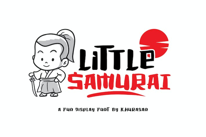 Cover Image For Little Samurai