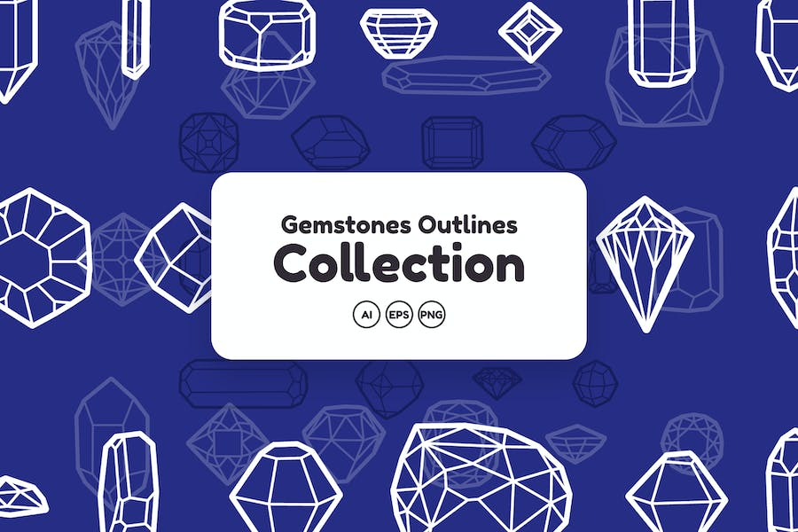 Gemstones Outlines Collection - product preview 0
