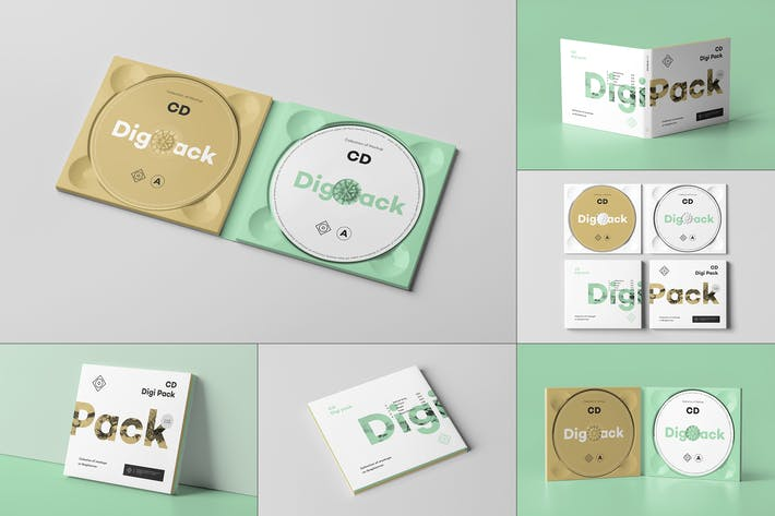 Thumbnail for CD Digi Pack Mock-up 9