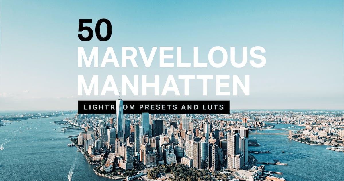 Download 50 Manhattan Lightroom Presets LUTs by sparklestock