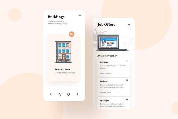 Thumbnail for Building Mobile Interface Illustrations