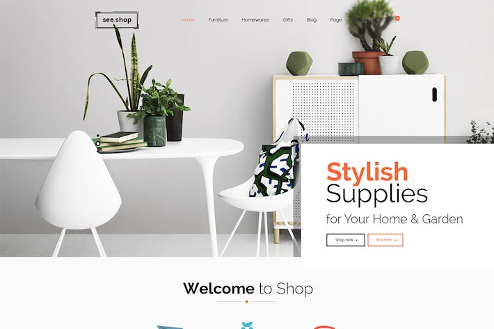 Thumbnail for See Shop Furniture - Interior RTL Responsive WooCo