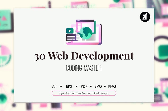 Thumbnail for 30 Web development elements