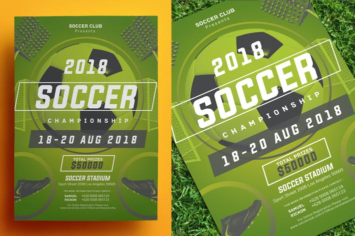 Thumbnail for Soccer Championship Flyer