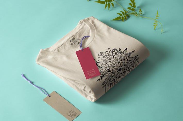 Thumbnail for Wolf Mandala T-shirt Design Vector Illustration