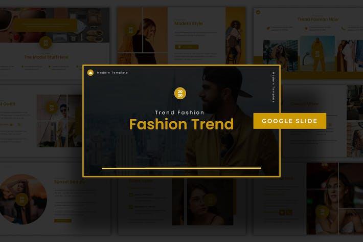 Thumbnail for Fashion Trend - Google Slide Template