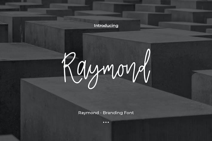 Cover Image For Raymond - Branding Font