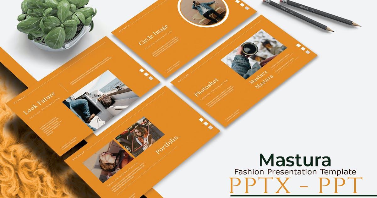 Download MASTURA - Fashion Powerpoint Template by joelmaker