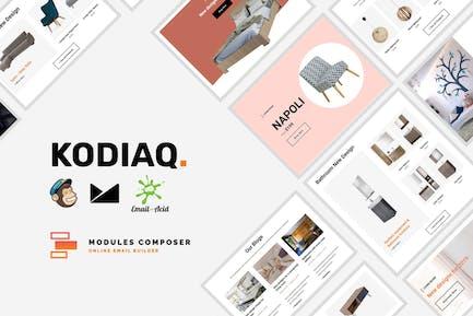 Kodiaq - E-Commerce Responsive Email Template