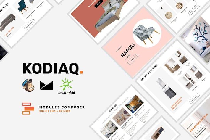 Thumbnail for Kodiaq - E-Commerce Responsive Email Template