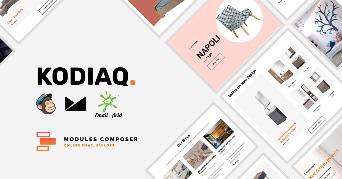 Download Kodiaq - E-Commerce Responsive Email Template by Psd2Newsletters