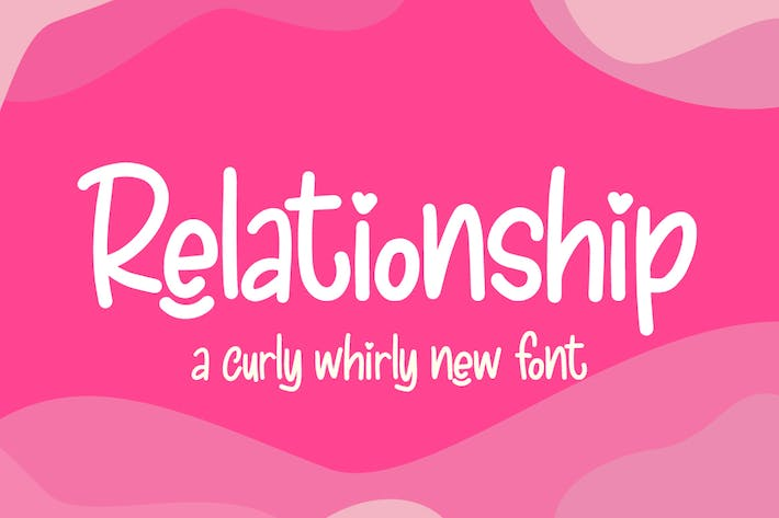 Thumbnail for Relationship Font