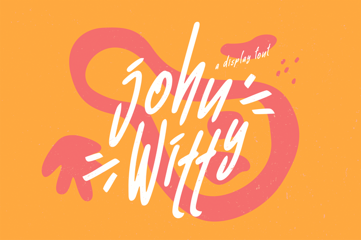 John Witty Playful font