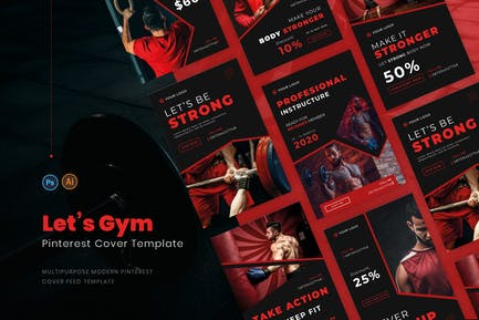 Dark Moody Pinterest Cover