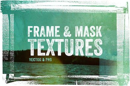 Текстуры рамки и маски - Вектор & PNG