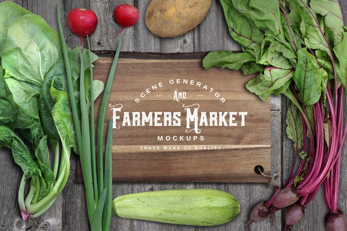 Cover Image For Farmers Market Scene Generator