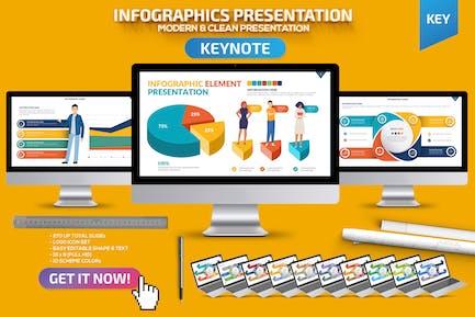 Infographic Keynote Presentation Template
