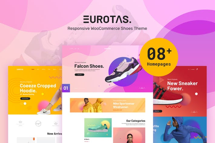 Thumbnail for Eurotas - Clean, Minimal WooCommerce Theme