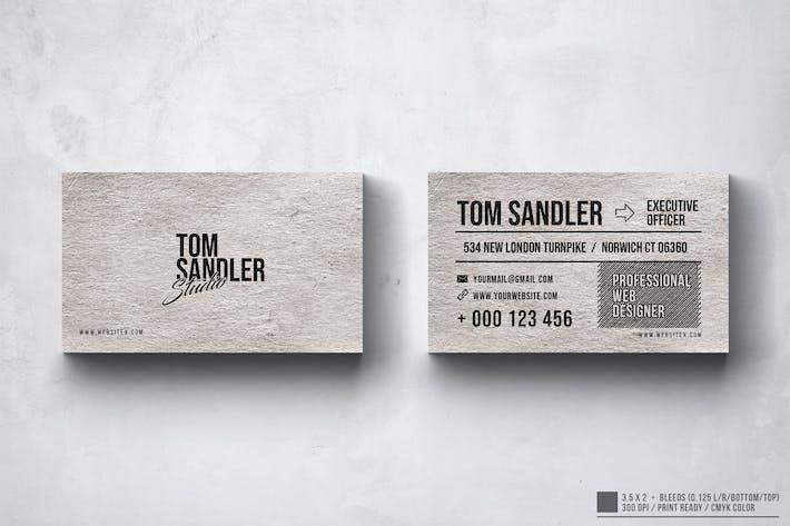 Thumbnail for Multipurpose Business Card Design
