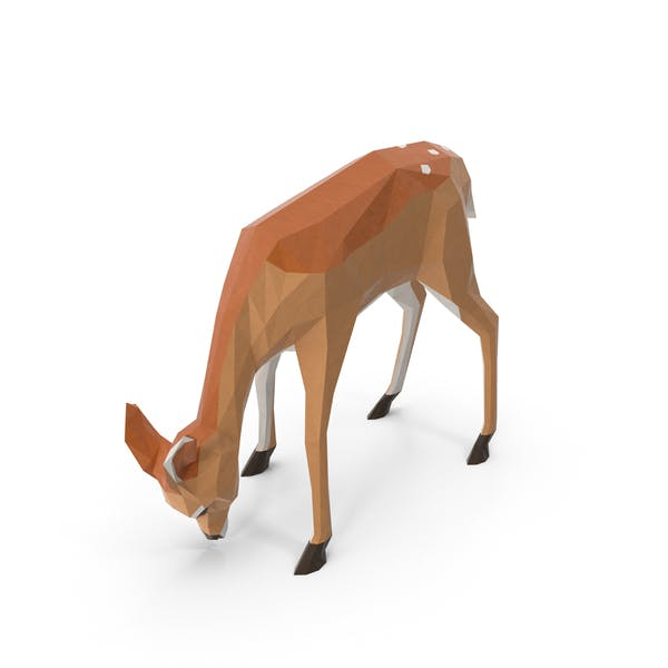 Thumbnail for Low Poly Fawn