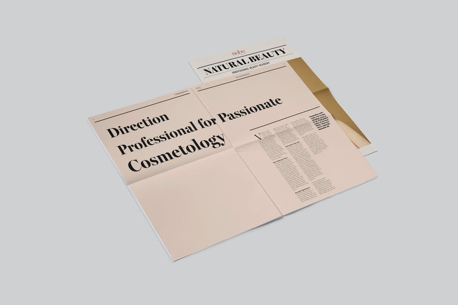 Newspaper Template - HUEN