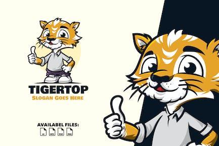 Tiger Blei - Logo Maskott