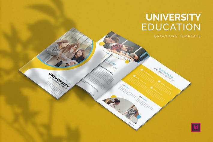 Thumbnail for University Educational - Brochure Template