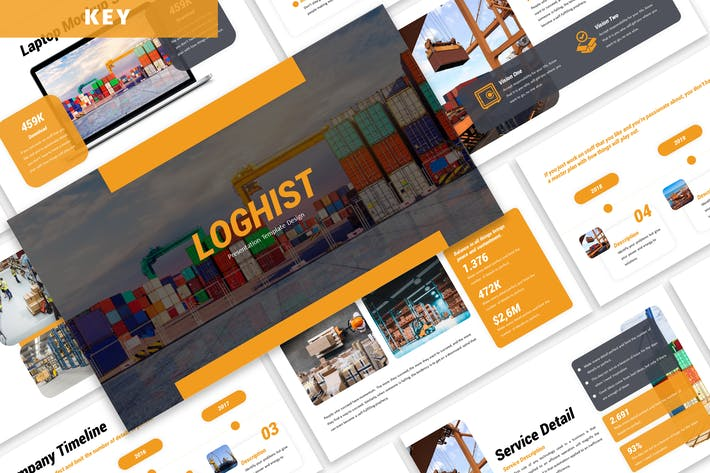 Thumbnail for Loghist - Business Keynote Template