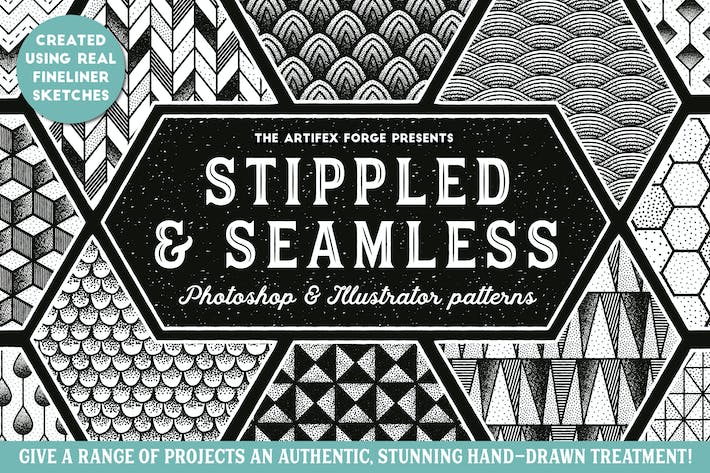 Thumbnail for Stippled & Seamless - Patterns