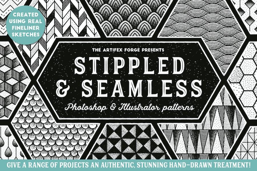Stippled & Seamless - Patterns