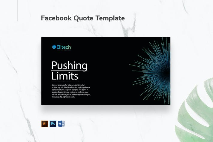 Thumbnail for Tech Startup Facebook Quote