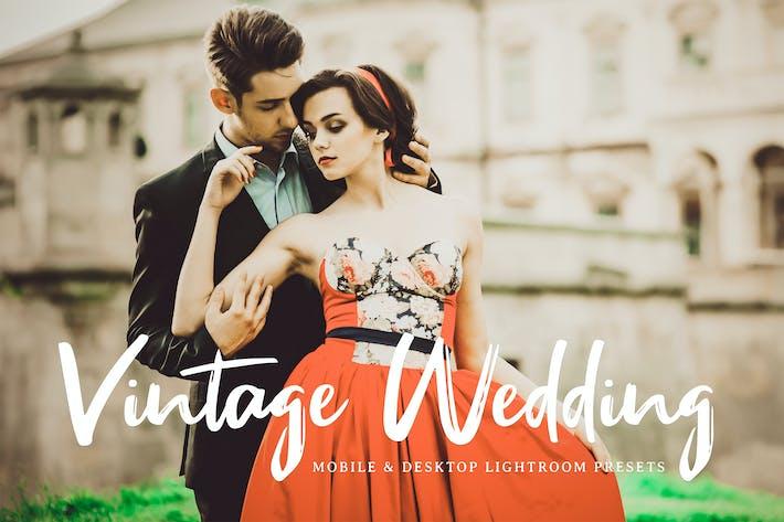 Thumbnail for Vintage Wedding Mobile & Desktop Lightroom Presets