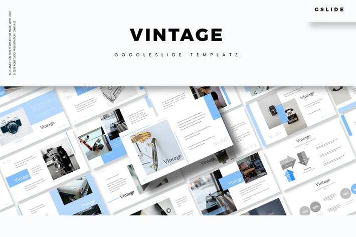 Thumbnail for Vintage - Google Slides Template
