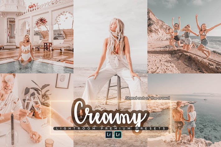 Thumbnail for Creamy Mobile & PC Lightroom Preset
