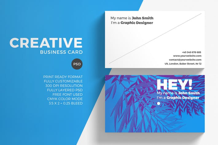 Thumbnail for Creative Minimal Business Card