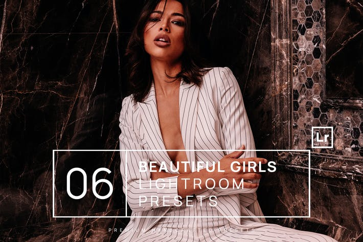 Thumbnail for 6 Beautiful Girls Lightroom Presets + Mobile
