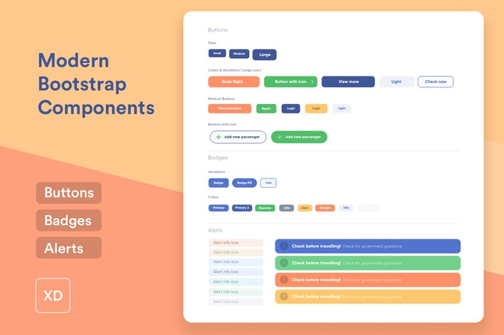 Thumbnail for 3 Modern Bootstrap UI Components