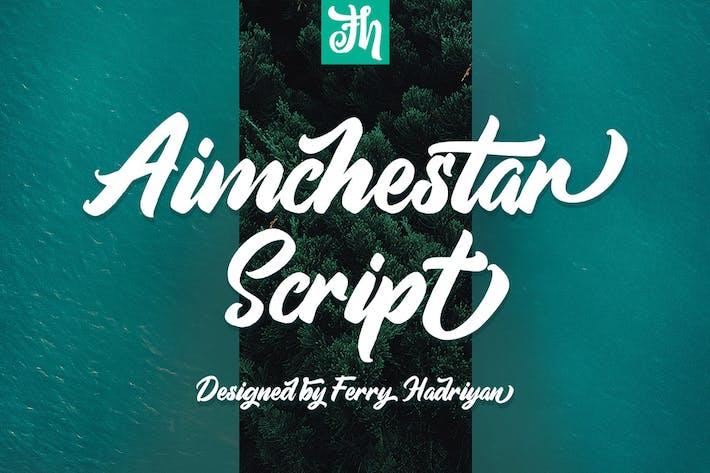 Thumbnail for Aimchestar - Script Font