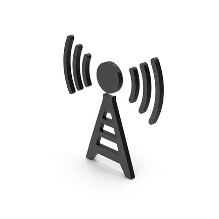 Symbol Antenna Black