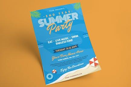 Summer Part Flyer