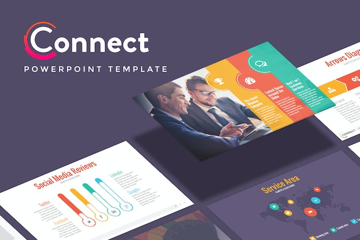 Thumbnail for CONNECT - Marketing Powerpoint Template