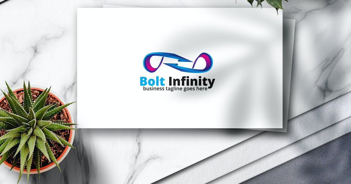 Download Bolt Infinity Logo by Voltury