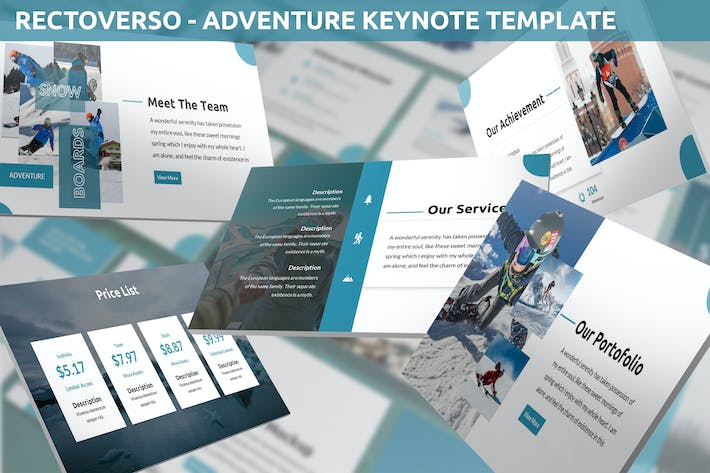 Thumbnail for Rectoverso - Adventure Keynote Template