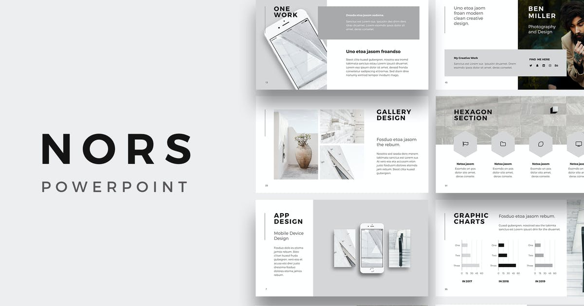NORS - Powerpoint Presentation Template by Pixasquare on Envato Elements